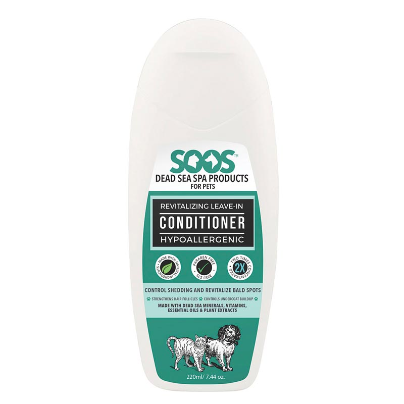 Soos Revitalizing Leave-In Conditioner for Dogs and Cats 8.45 oz