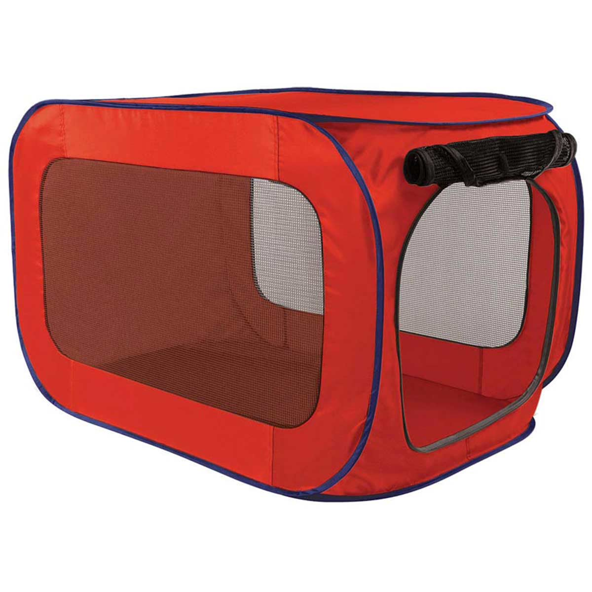 Red Professional Pop Open Dog Kennel 20 inches by 20 inches by 32 inches