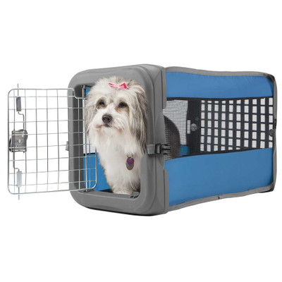 Small Pop Open Dog Kennel with Wire Door from Sport Pet