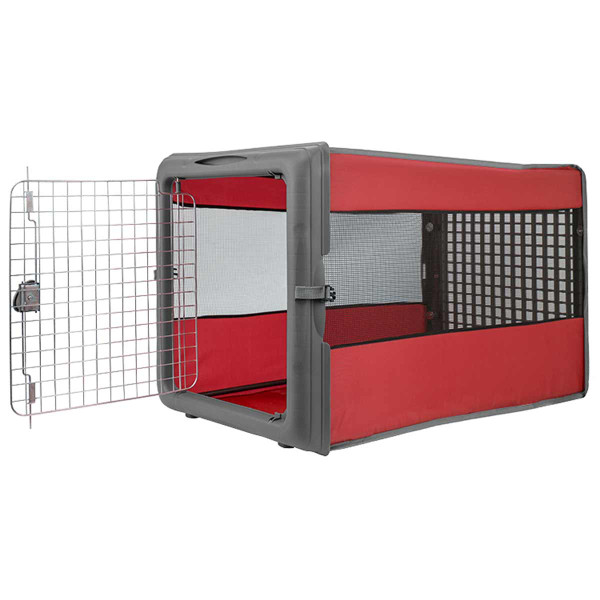 Instructions for assembling Large Pop Open Dog Kennel with wire Door from Sport Pet