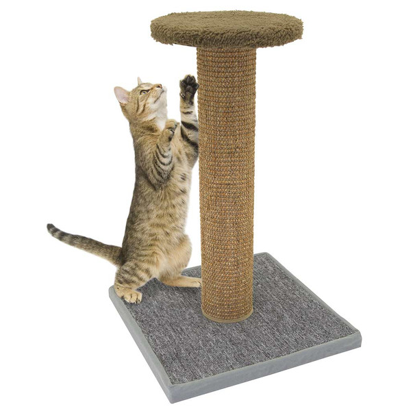 Kitty City Scratching Post 21 inch Tall