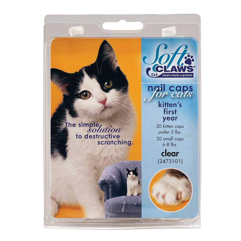 Feline Soft Claws Kittens First Year Take Home Kit Nail Caps