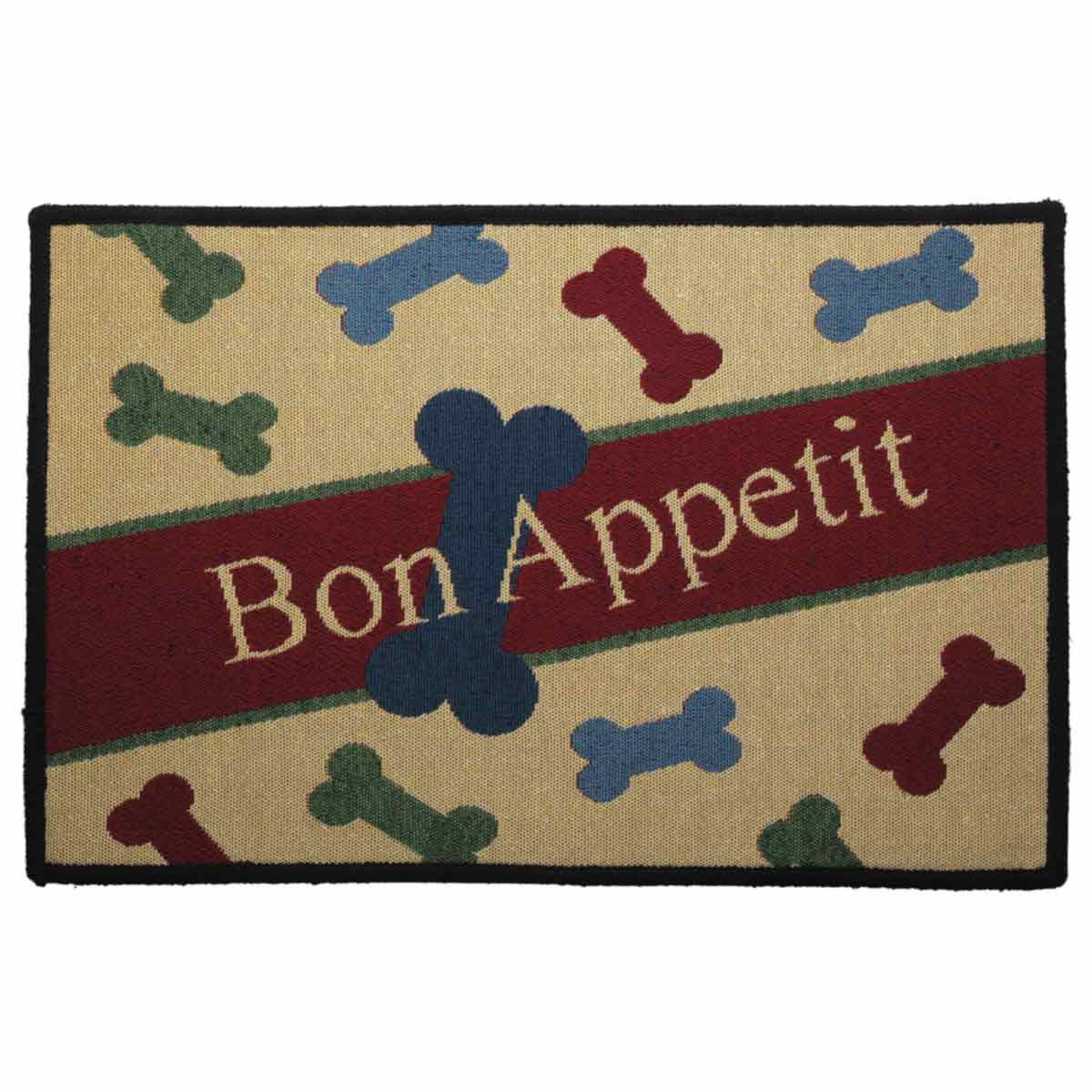 Indipets Bon Appetite Place Mat for Dogs or Cats