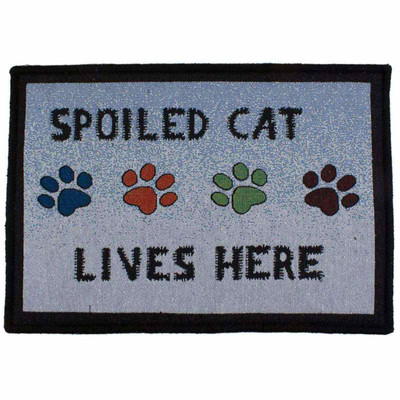 Spoiled Cat Place Mat