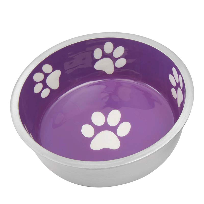 Indipets Super Max X-Small Violet Purple Dog Bowl