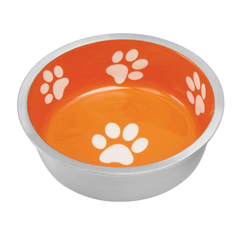 Indipets X-Small Super Max Bowl - Sunburst Orange