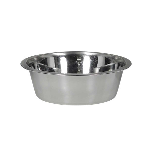 Indipets Stainless Steel Pet Dish 1 Pint at Ryan's Pet Supplies