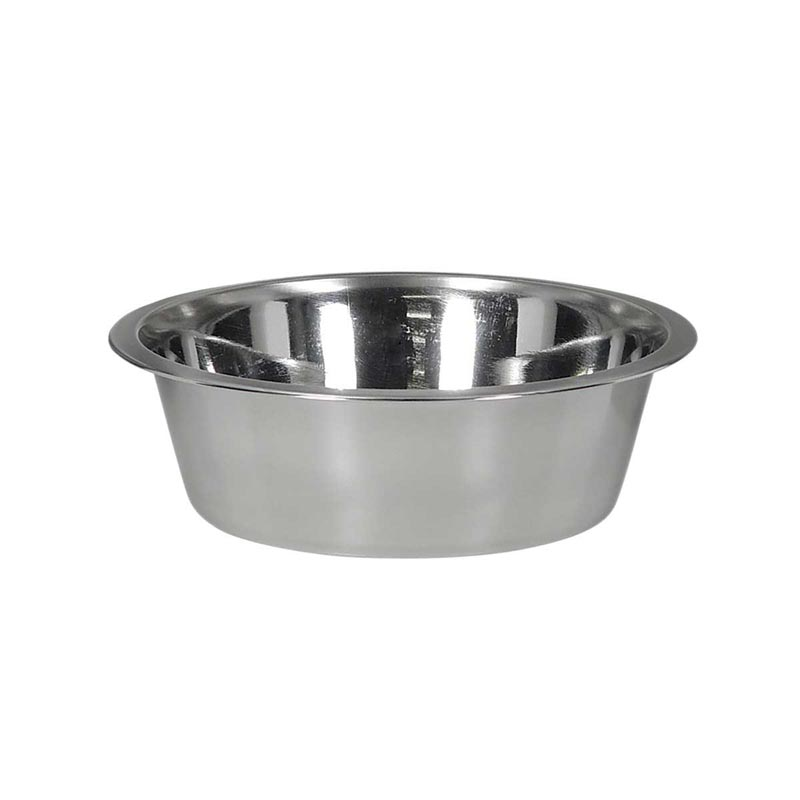 Indipets Stainless Steel Dish for Pets 1 Quart at Ryan's Pet Supplies