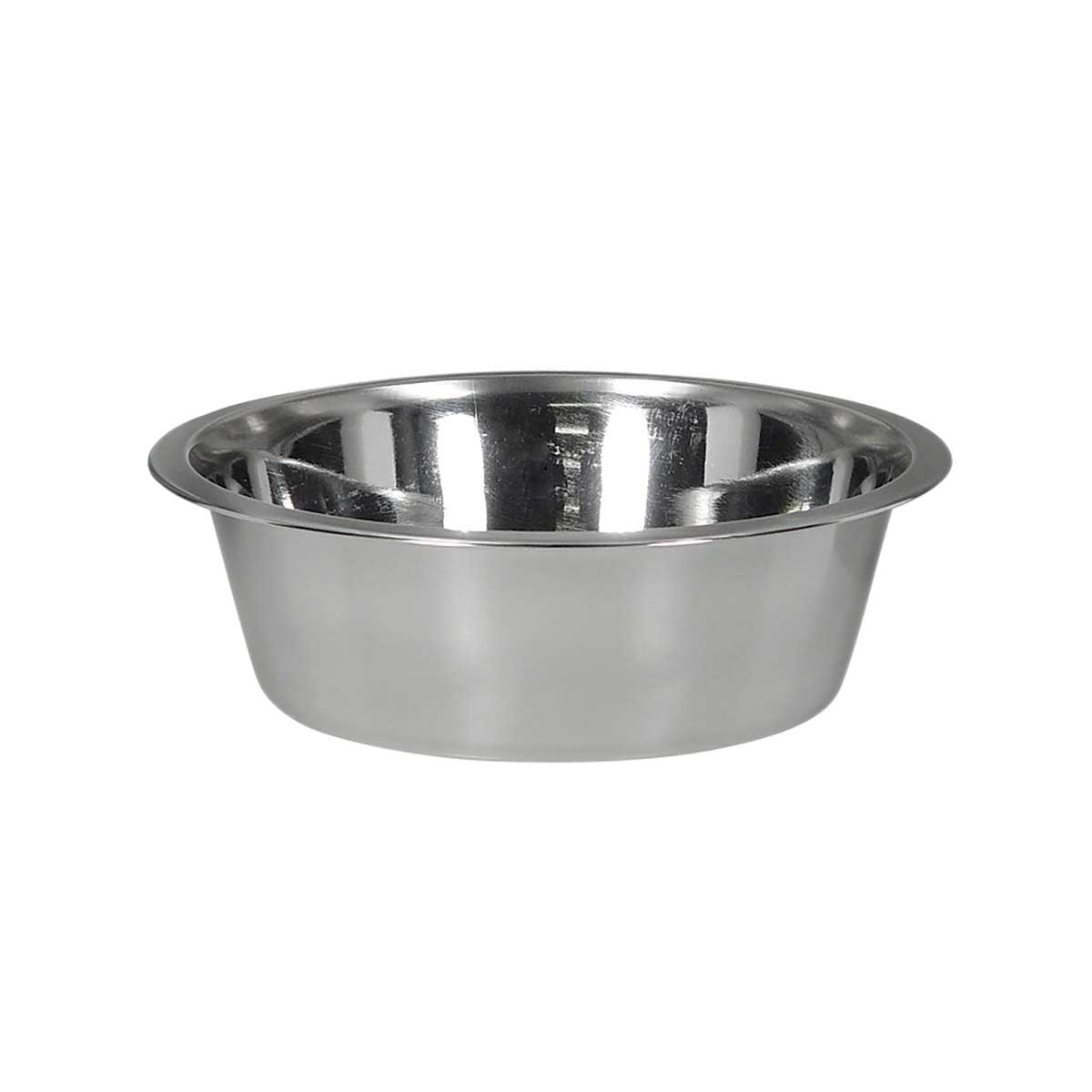 Indipets Stainless Steel Dish for Pets 2 Quart at Ryan's Pet Supplies