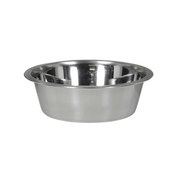 Indipets Stainless Steel Pet Dish 5 Quart at Ryan's Pet Supplies