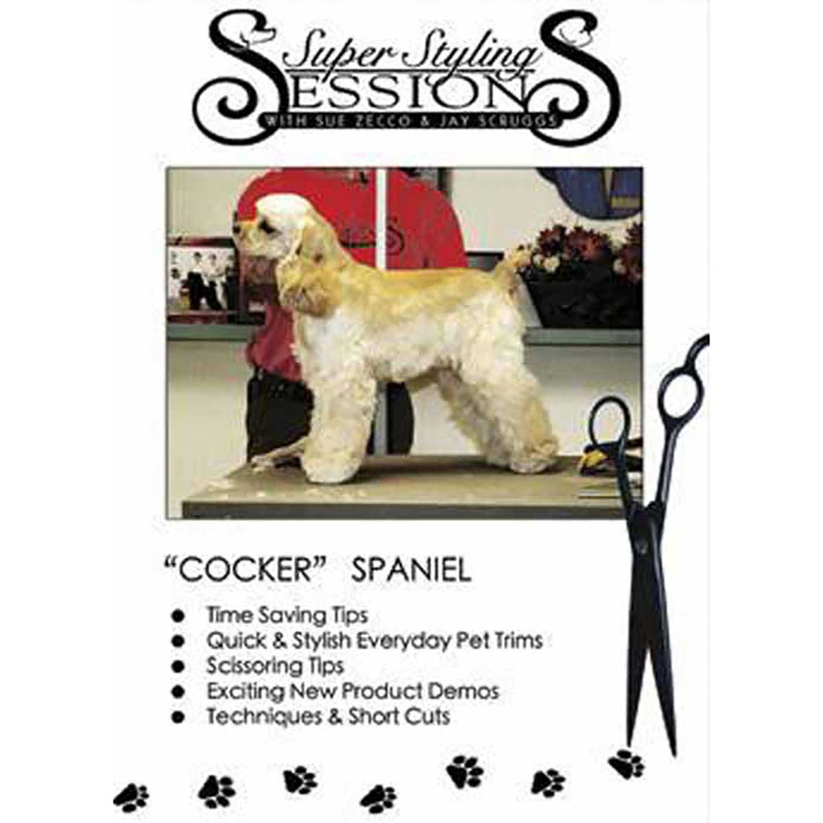 Super Styling Sessions - The Cocker Spaniel Grooming DVD
