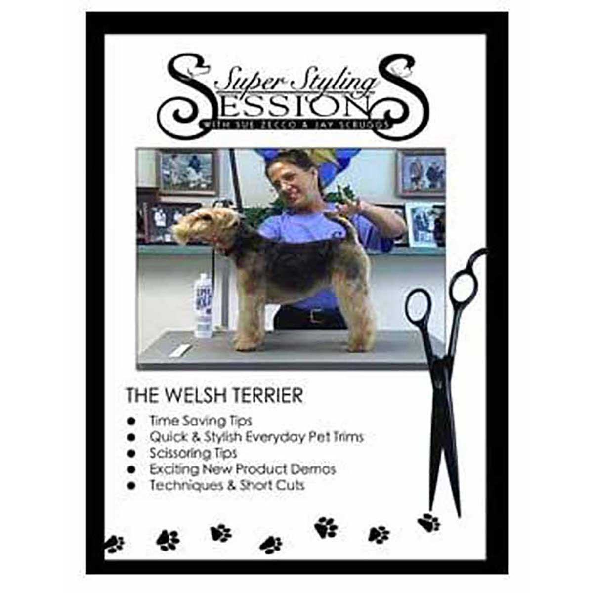 Super Styling Sessions - Welsh Terrier Grooming DVD for Professional Groomers