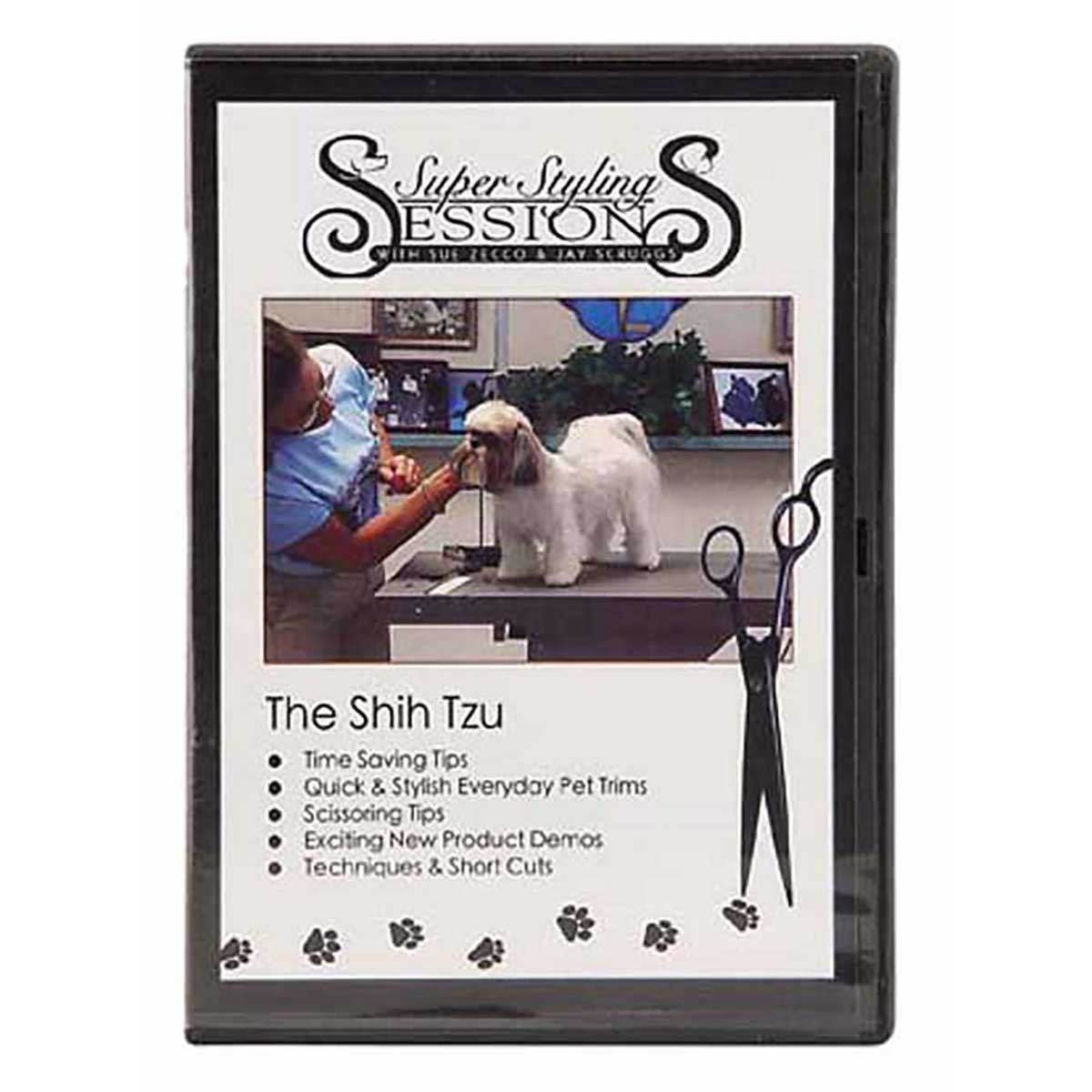 Super Styling Sessions - Shih Tzu Grooming DVD