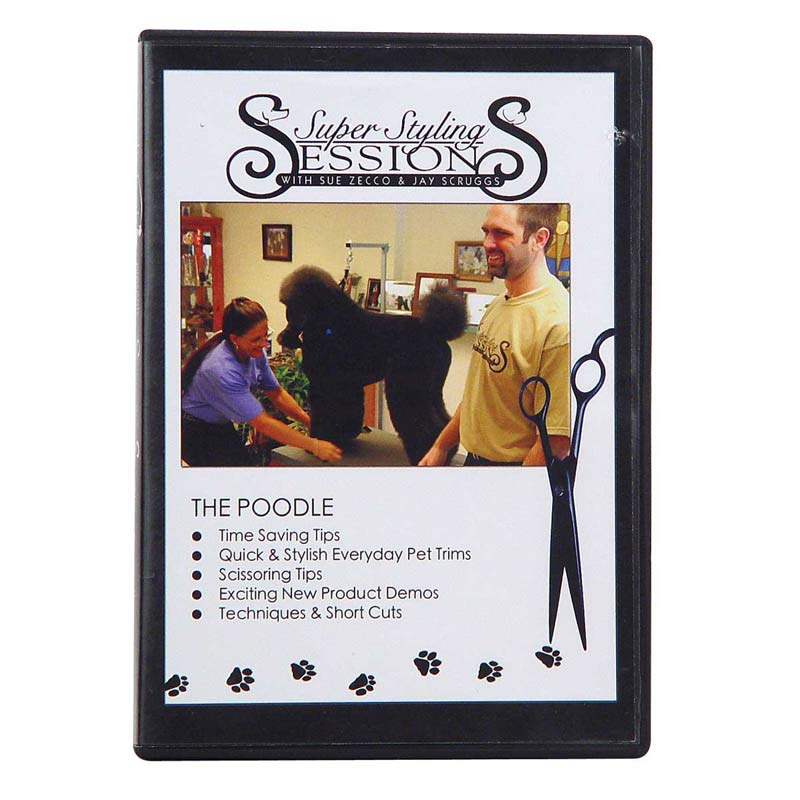 Super Styling Sessions - Poodle Grooming DVD for Professionals