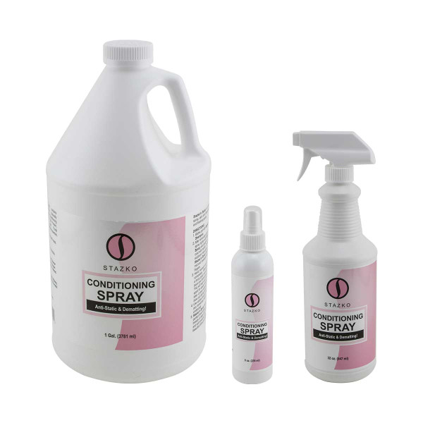 Stazko Detangler and Conditioning Spray RTU for grooming
