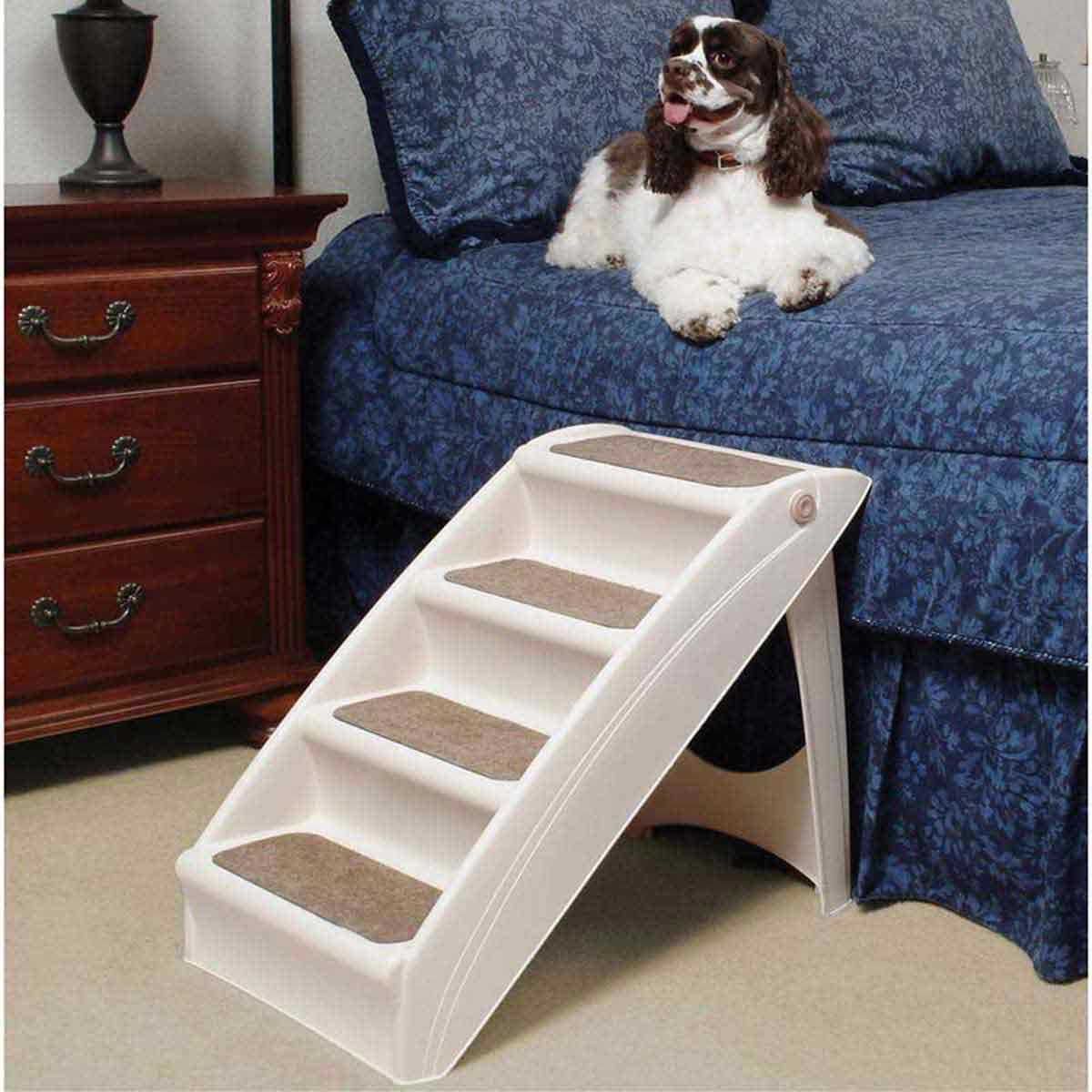 Solvit Pupstep + Plus Pet Stairs - 24 inches by 16 inches by 20 inches