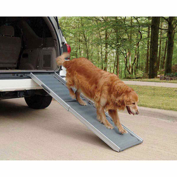 Solvit Deluxe Telescoping Pet Ramp for Cars