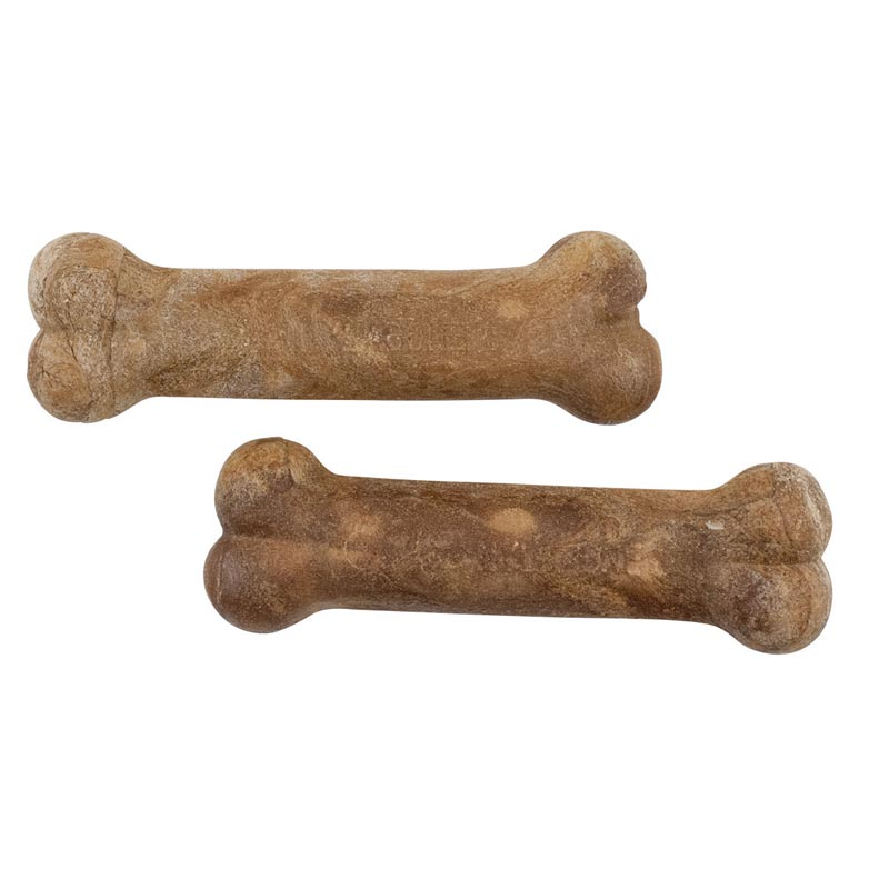 Nylabone Natural Healthy Edibles Bacon Wolf Twin Pack Chew for Dogs