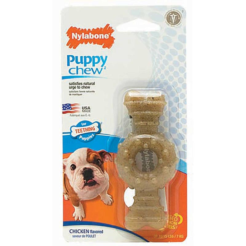 Nylabone Puppy Chew Ring Bone Petite