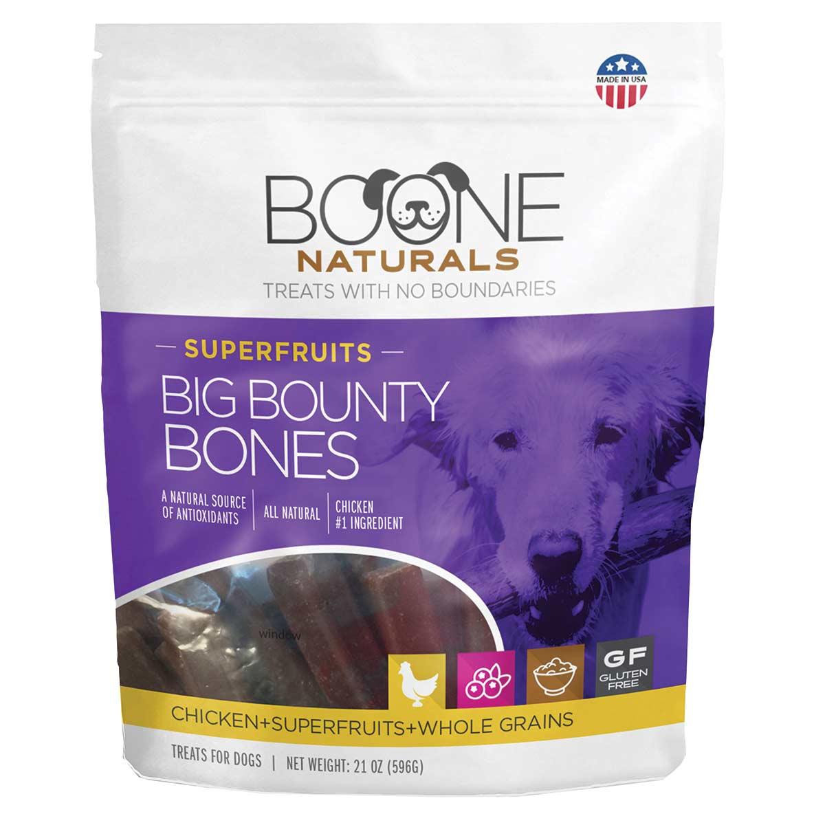 Boone Bounty Big Bones for Dogs Super Fruit 21 oz