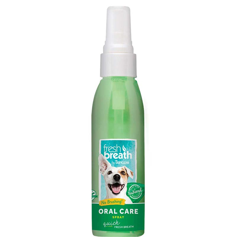Tropiclean Fresh Breath Oral Care Spray Mint for Dogs 4 oz