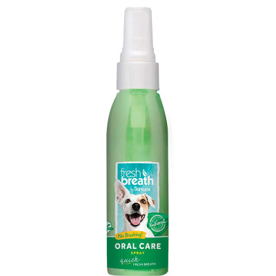 Tropiclean Fresh Breath Oral Care Spray Mint for Dogs 4 oz