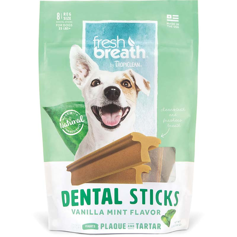Regular Tropiclean Dental Sticks for Dogs at Ryan's Pet Supplies