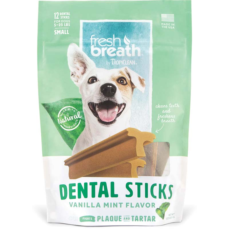 Small Tropiclean Dental Sticks at Ryan's Pet Supplies