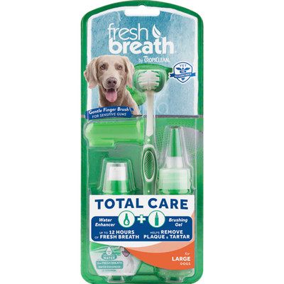 Tropiclean Fresh Breath Total Care for Large Dogs