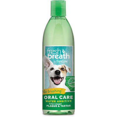 Tropiclean Fresh Breath Oral Care Water Additive for Dogs 16 oz