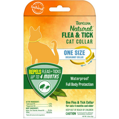 Tropiclean Flea and Tick Collar for Cats