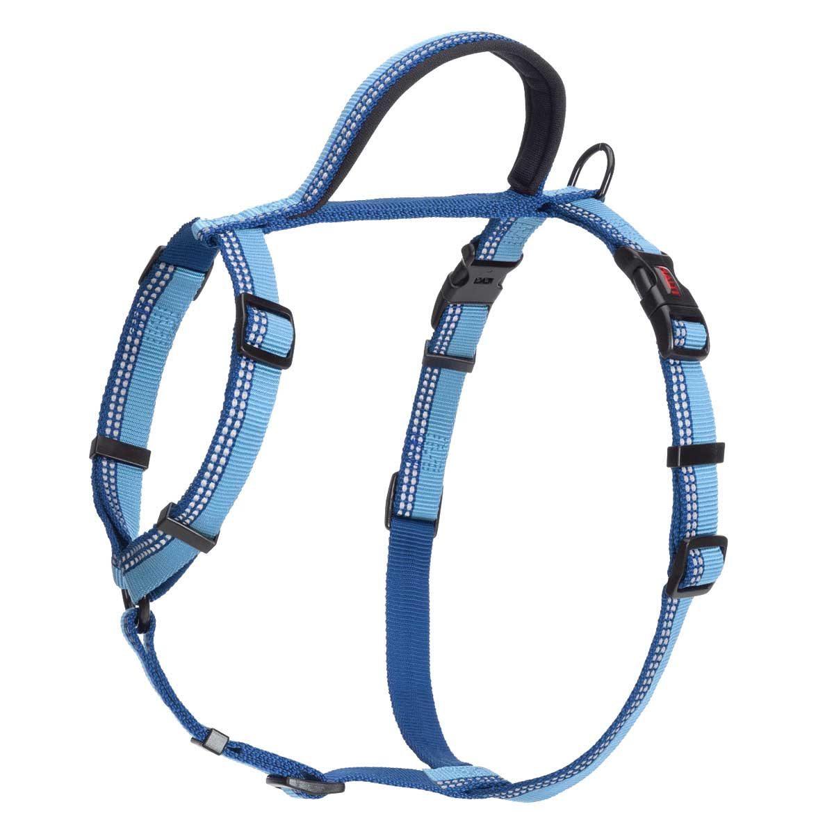Halti Walking Harness Medium Blue 22 inches -30 inches