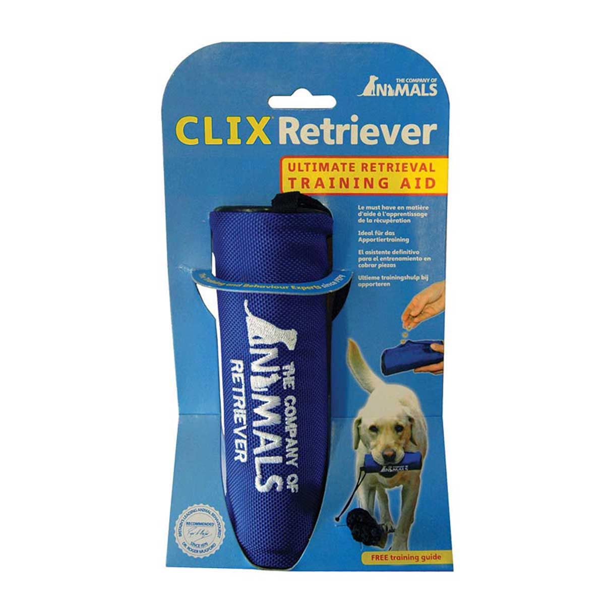 Clix Retriever Ultimate Training Aid for Dogs - in Packaging