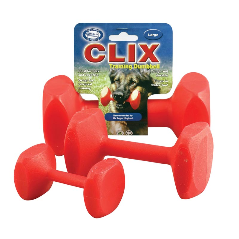 Clix Training Dumbbell for Dogs - Medium