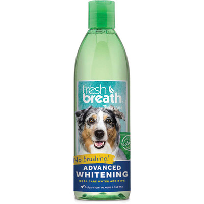 Fresh Breath by TropiClean Advanced Whitening Oral Care Water Additive