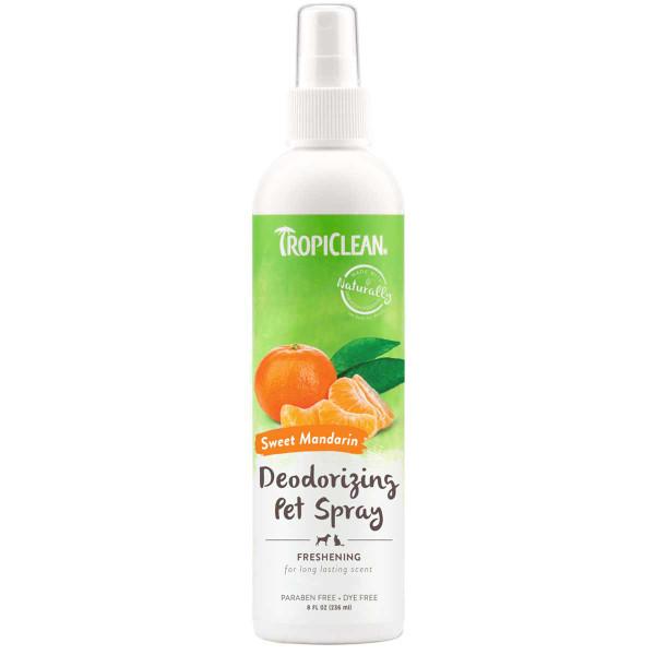Tropiclean Sweet Mandarin Deodorizing Pet Spray 8 oz
