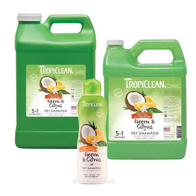 Tropiclean Flea & Tick Neem & Citrus Pet Shampoo