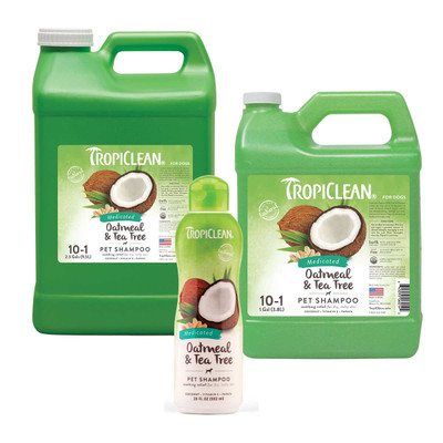 Tropiclean Medicated Oatmeal and Tea Tree Shampoo