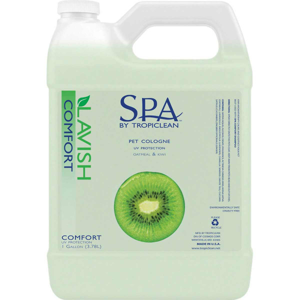 Comfort Oatmeal and Kiwi SPA by TropiClean Spray for Pets Gallon