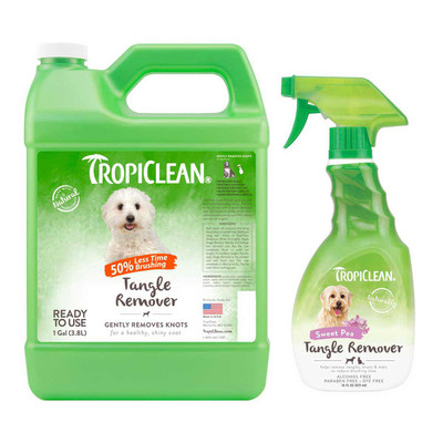 TropiClean Tangle Remover Spray for Pets
