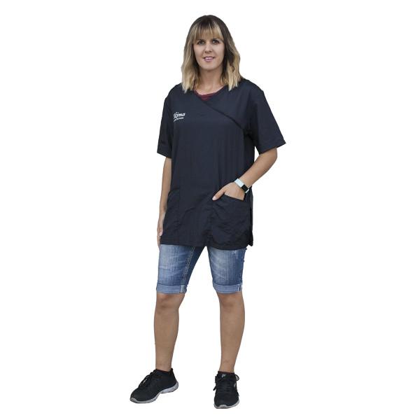 Black Extra Large Tikima Fiori Shirt for Groomers