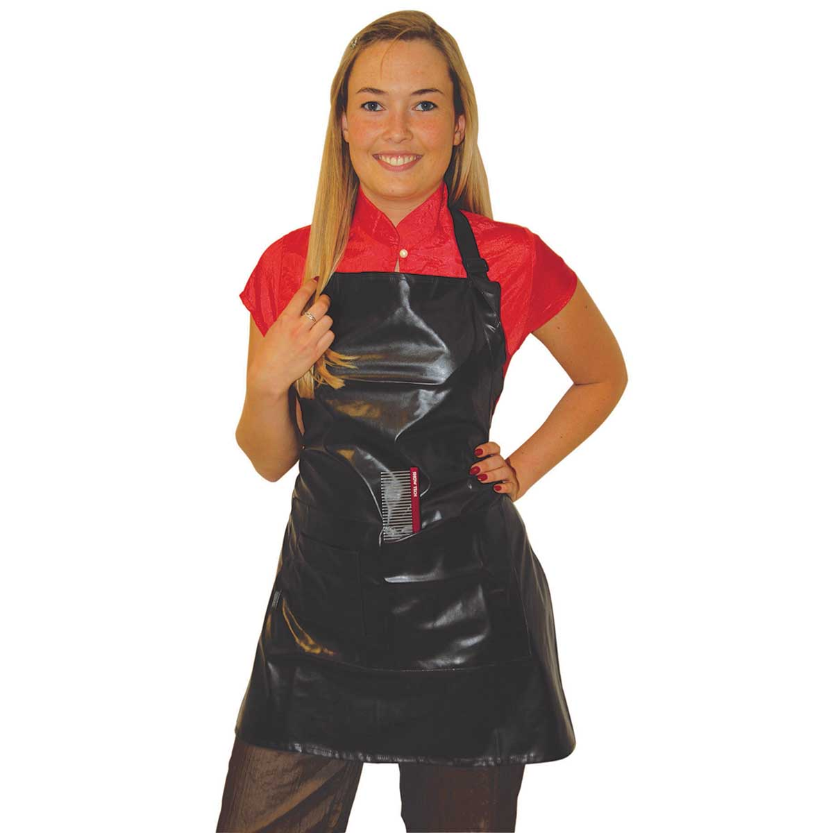 Tikima Black Waterproof Apron for Groomers