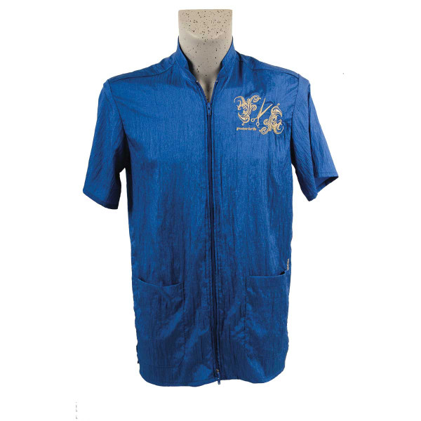 Cobalt Tikima Vico Unisex Shirt with 2 Way Front Zipper 3X-Large