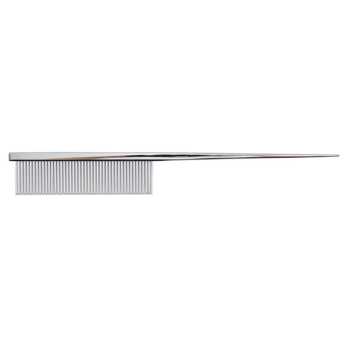Yento by Paw Brothers Carbon Steel Tail Comb with 46 Pins for Grooming