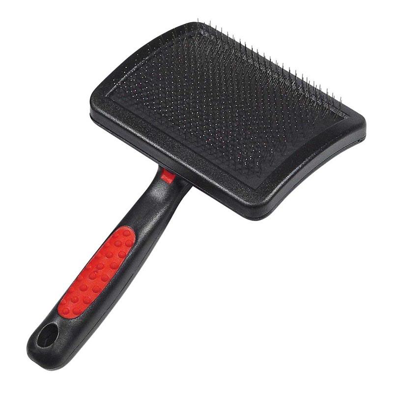 Paw Brothers Universal Type Medium Slicker Brush with Hard Pins 3.5 inches