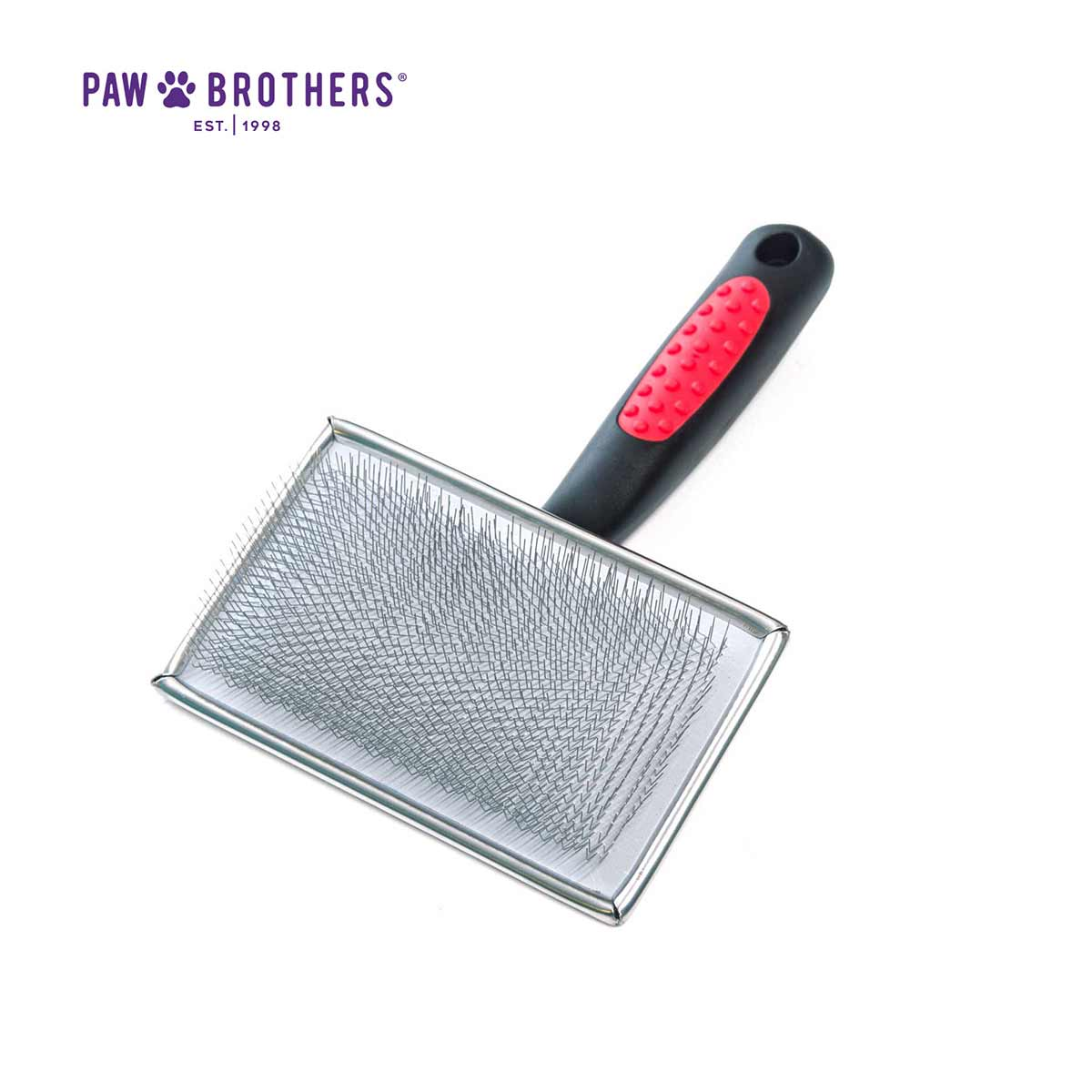Paw Brothers X-Large Flat Slicker Brush - 4.5 inches by 2.75 inches
