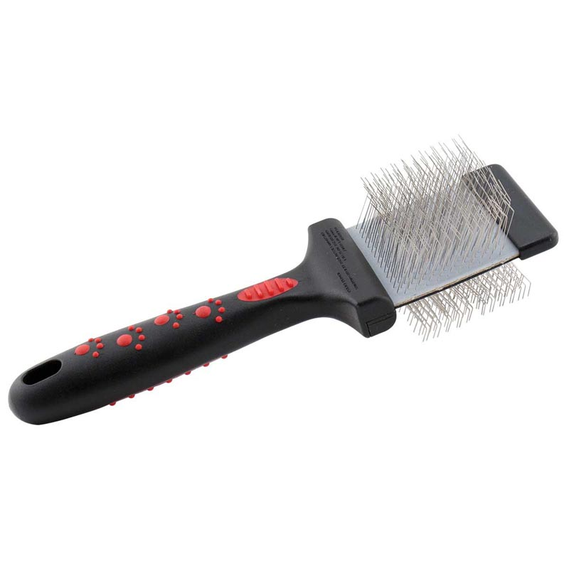 Paw Brothers Small Double Sided Extra Firm Slicker Brush