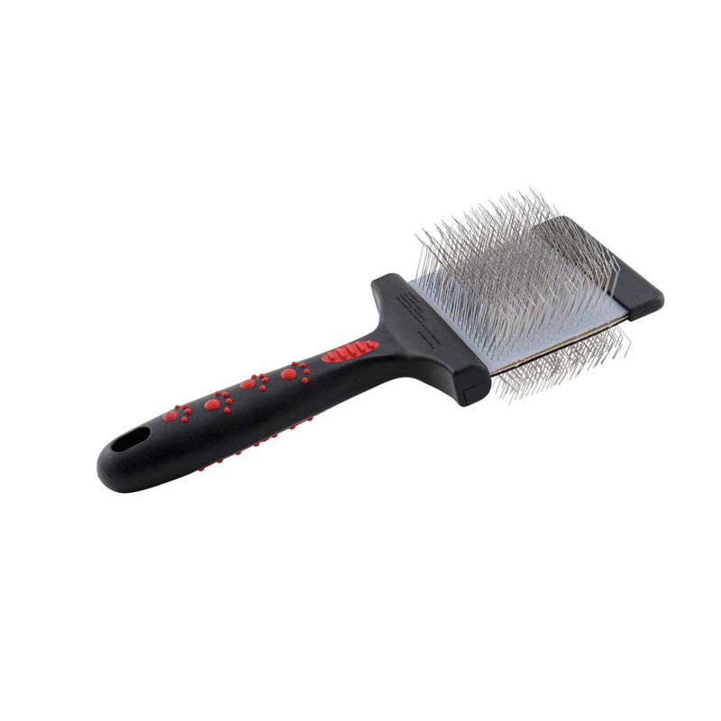 Paw Brothers Large Firm Double Sided Flex Slicker Brush