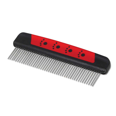 Paw Brothers Magic Spring Comb for Pet Grooming - 7.5 inch Comb,1.25 inch Teeth