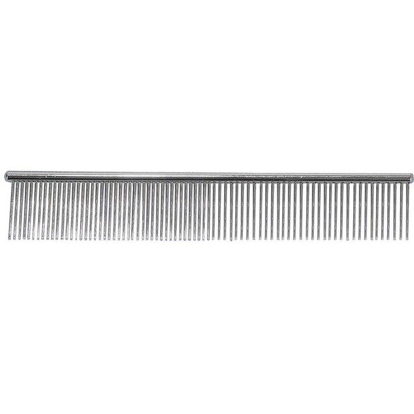 Paw Brothers 7.5 inch Greyhound Style Comb for Medium and Fine Hair